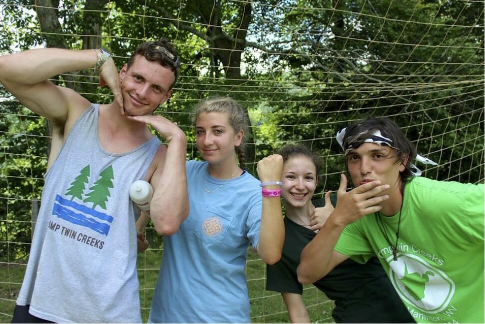 group of camp counselors